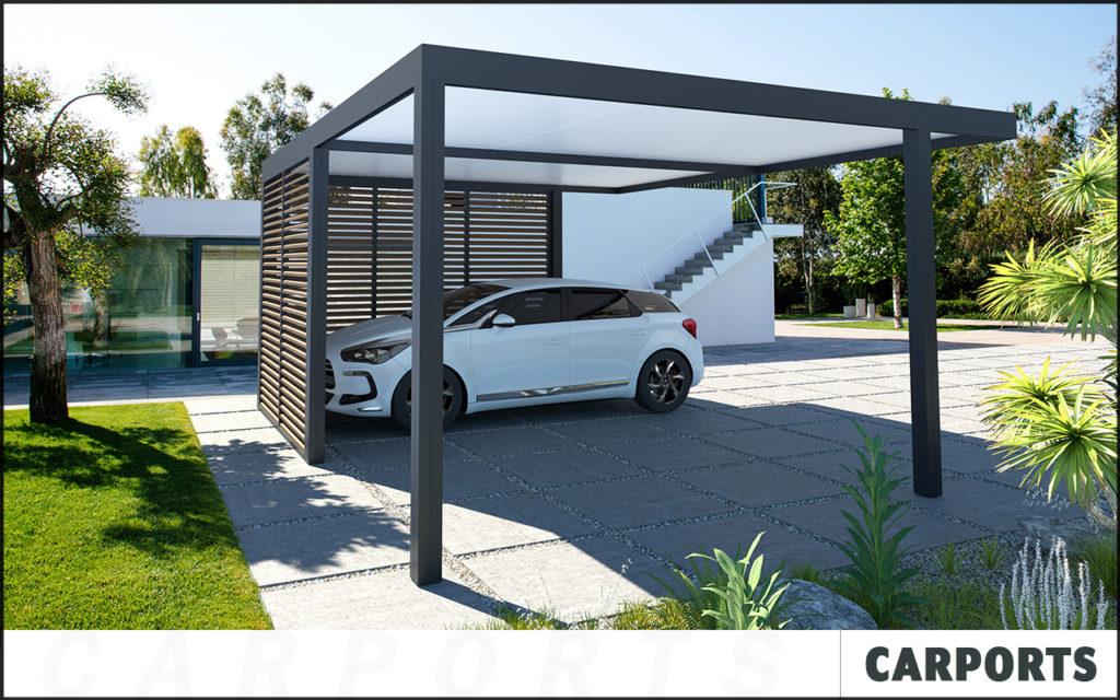 Carport sur mesure en aluminium