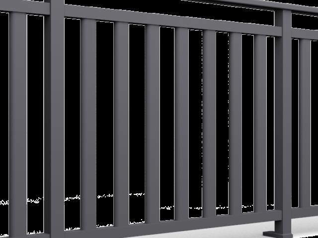 Barreaux pour garde de corps alu 60x30 oblong
