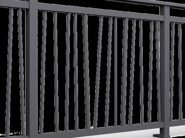 Barreaux pour garde de corps alu bambou ronds diamètre 20 et 30mm disposés aléatoirement