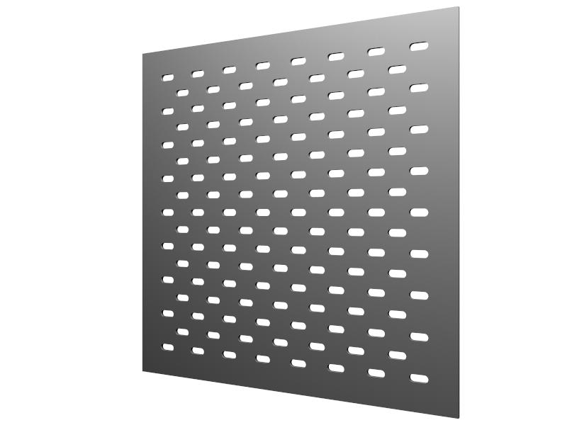 Perforations 20x8 oblong horizontales