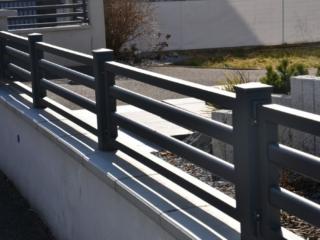 Clôture sur mesure en aluminium