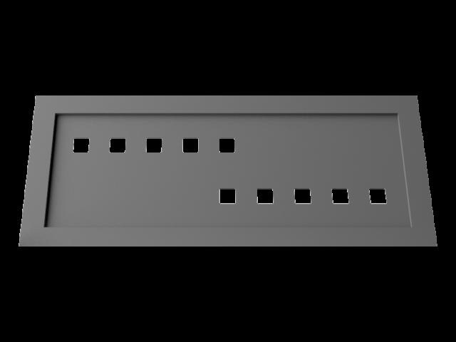 Motif pour garde corps M02