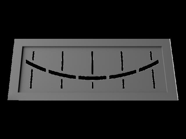 Motif pour garde corps M04
