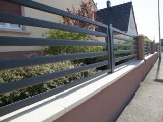 Clôture en aluminium sur mesure Simplicity