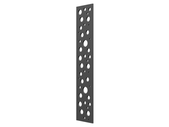 Décor de découpes pour portail en aluminium SELECT HYBRIDE
